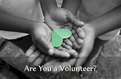 Are you a volunteer?